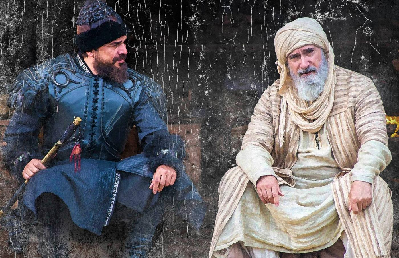 Ertugrul and ibnarabi copyright TRT