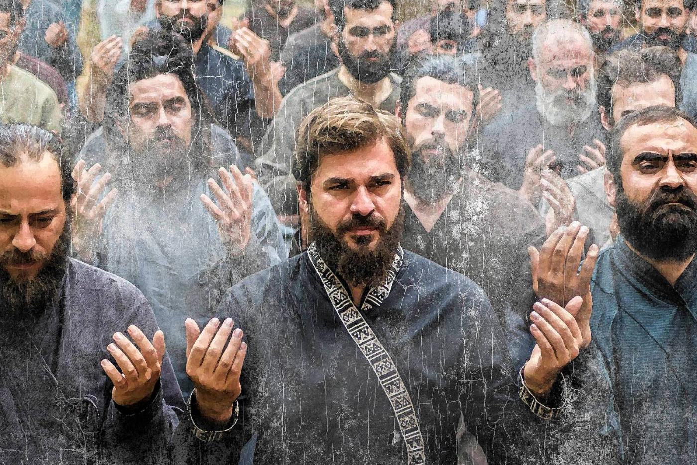 Ertugrul in prayer copyright TRT
