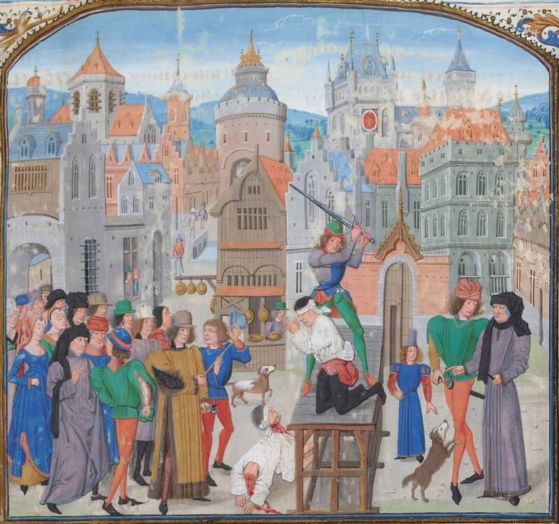 medieval-execution-of-guillaume-sans